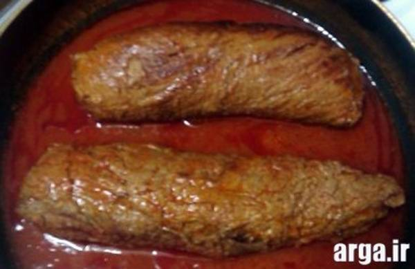 تهیه رولت گوشت چرخ کرده