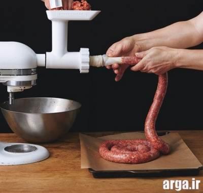 دستورالعمل تهیه سوسیس