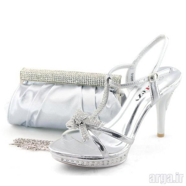 ست کیف و کفش جدید عروس
