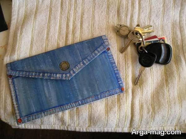 دوختن کیف با شلوار لی در طرحی شیک