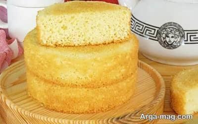 نحوه تهیه کیک اسفنجی با شیر