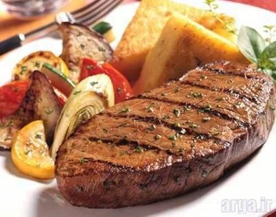 طرز تهیه استیک گوشت کبابی