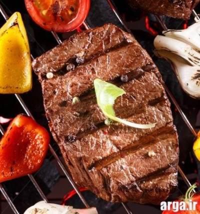 طرز تهیه استیک گوشت راسته