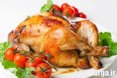 طرز تهیه مرغ شکم پر 6