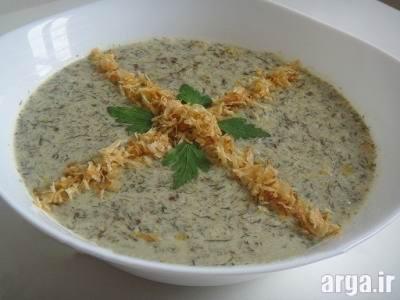 طرز تهیه آش ماست شیرازی