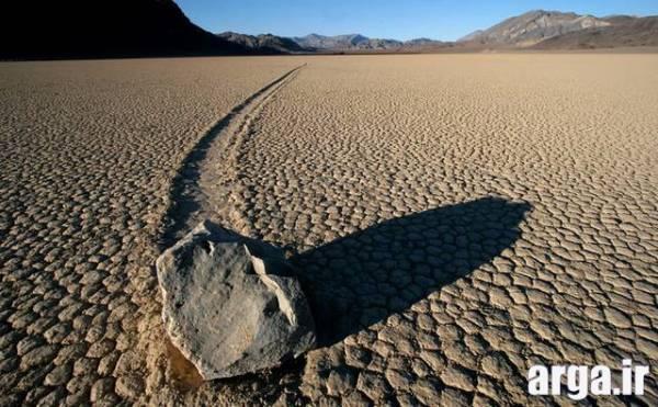 سنگ های روان در طبیعت
