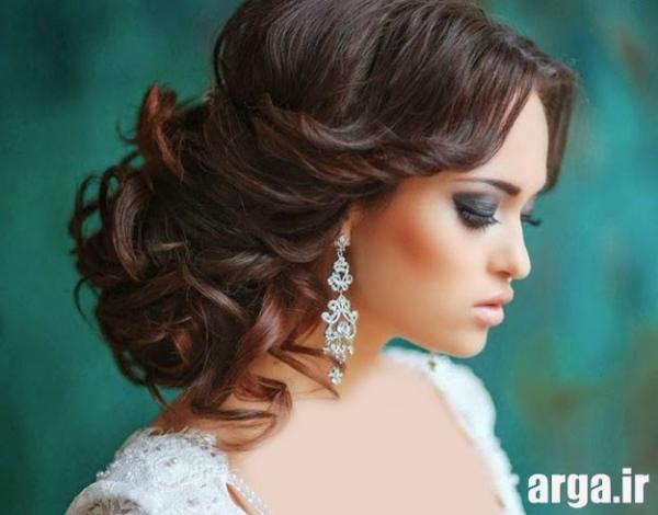مدل های موی عروس شیک
