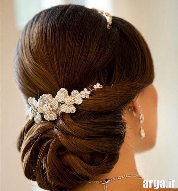 مدل آرایش مو شیک عروس