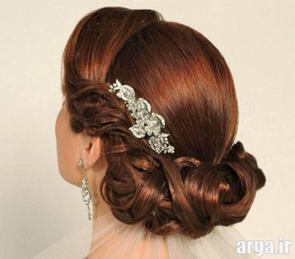 آرایش موی زیبا و جذاب عروس