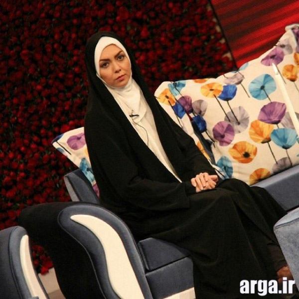آزاده نامداری در برنامه تلوزیون