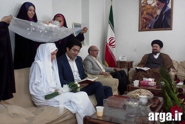 تصویر چهارم عقد آزاده نامداری و فرزاد حسنی