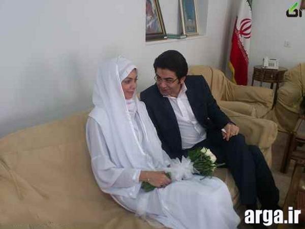 مراسم عقد آزاده نامداری و فرزاد حسنی
