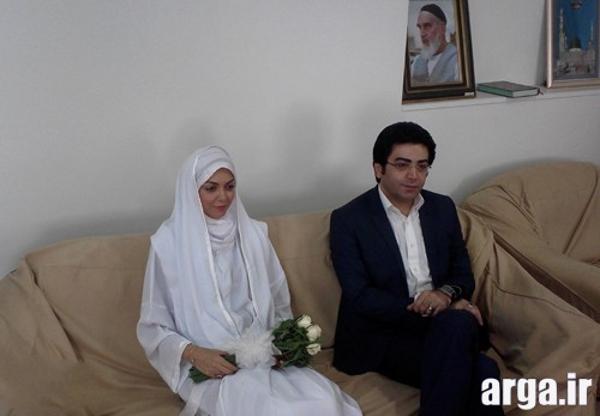 تصویر سوم عقد آزاده نامداری و فرزاد حسنی