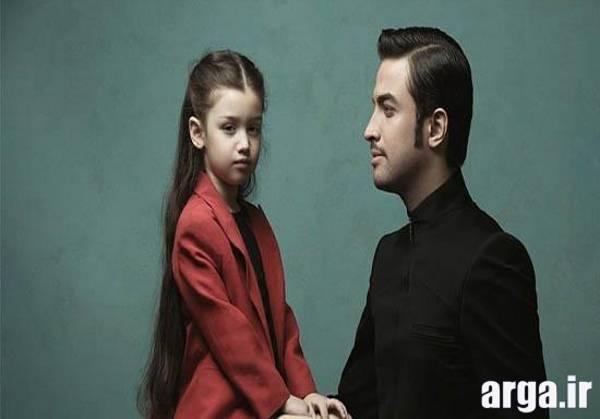 عکس های بنیامین بهادری و دخترش سری جدید