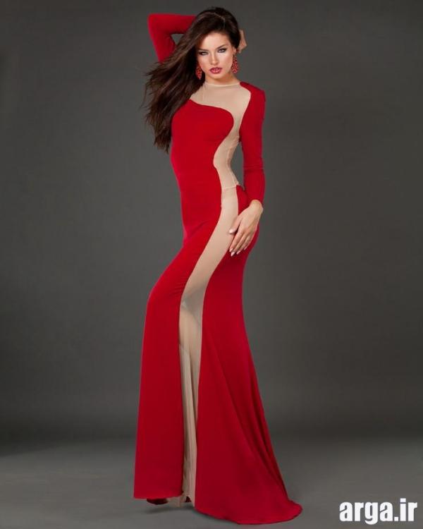 لباس مجلسی 94 بلند قرمز