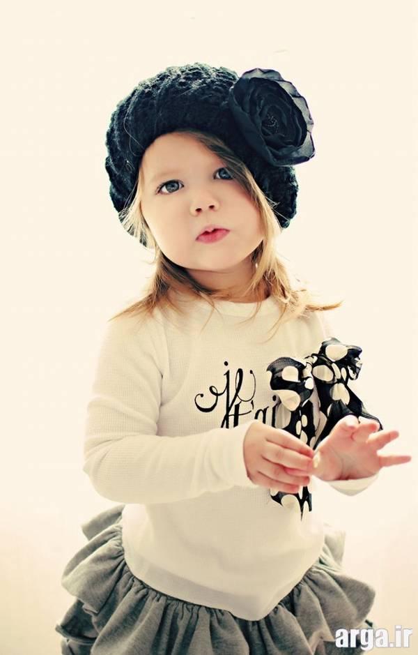 دختر بچه باکلاس و زیبا