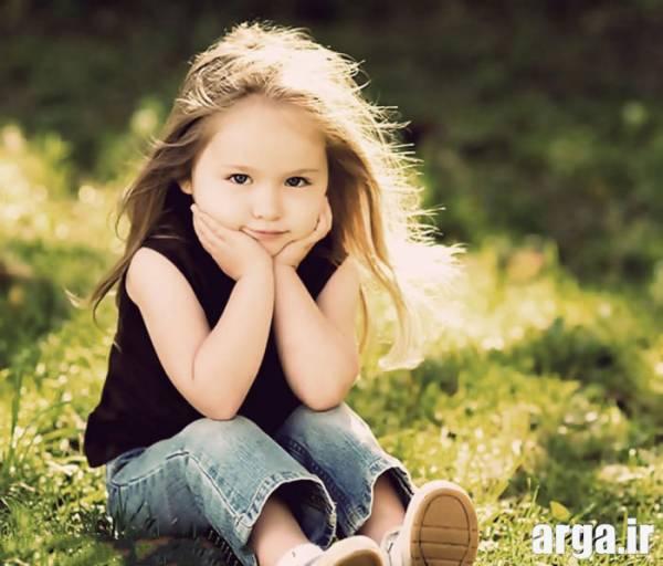 دختر بچه ناز و زیبا