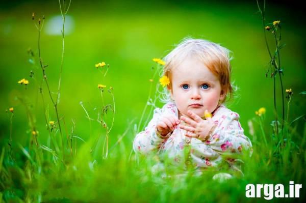 دختر بچه ناز و جذاب