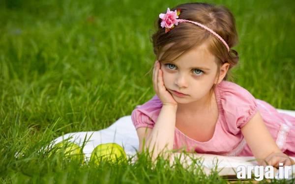 عکس دختر بچه دوست داشتنی