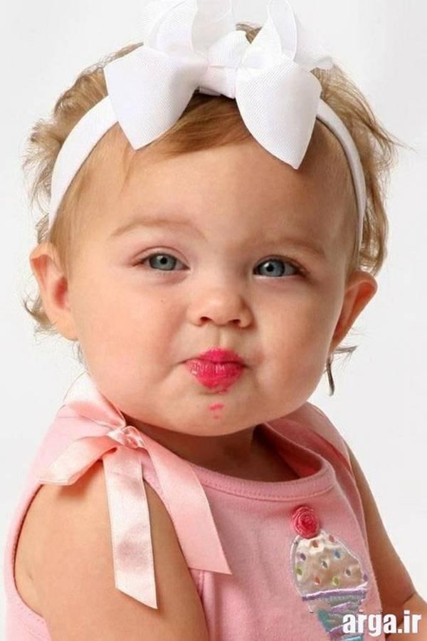 دختر بچه زیبا و شیک