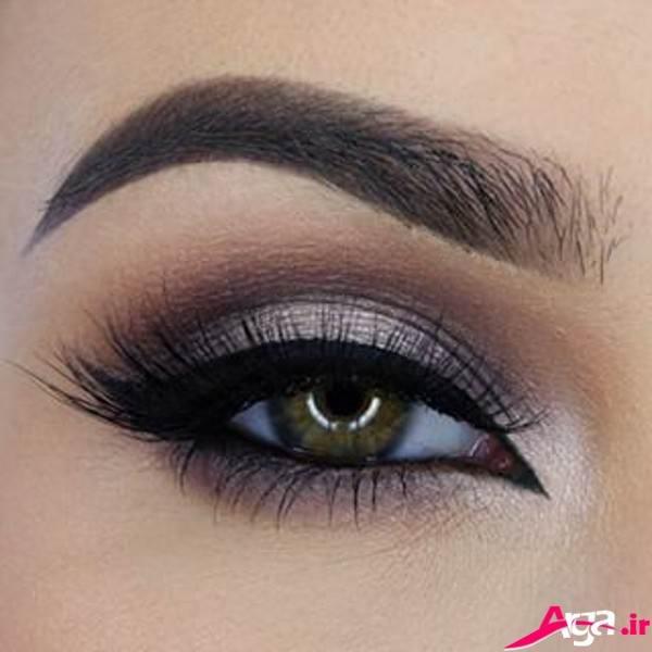 آرایش چشم جدید با سایه دودی