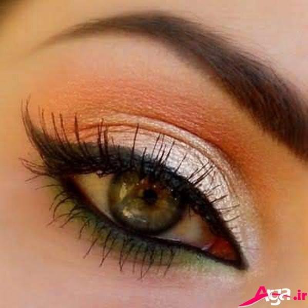 مدل های شیک و جدید آرایش چشم
