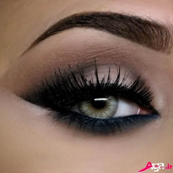 آرایش چشم عروس شیک و زیبا