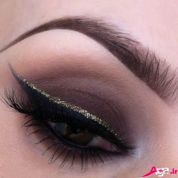 آرایش چشم شیک عروس 2015