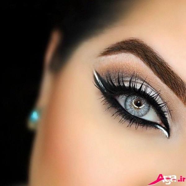 آرایش چشم عروس جذاب و مدرن