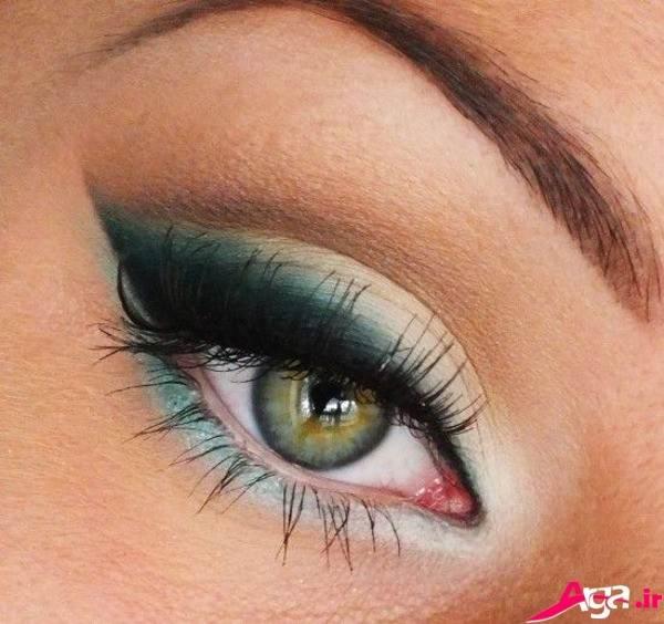 آرایش چشم عروس مدرن