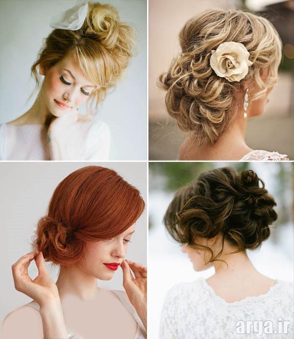 مدل موی ایتالیایی عروس مدرن