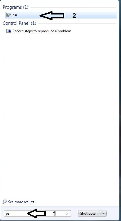 جعبه سیاه در ترفند ویندوز 7