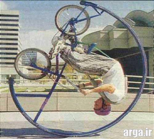 تصاویر خنده دار جدید دوچرخه