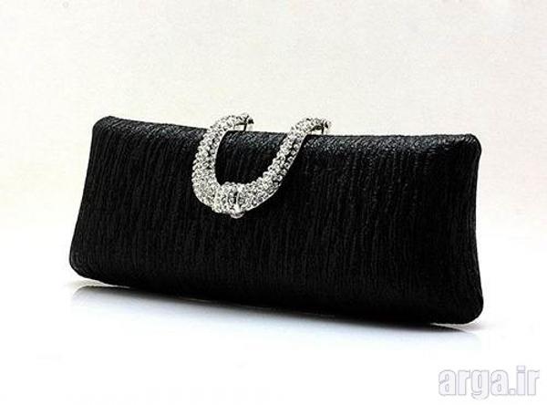 کیف مجلسی زنانه بدون دسته زیبا