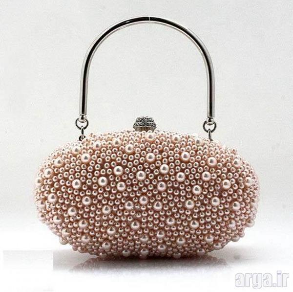 کیف مجلسی زنانه دسته دار زیبا