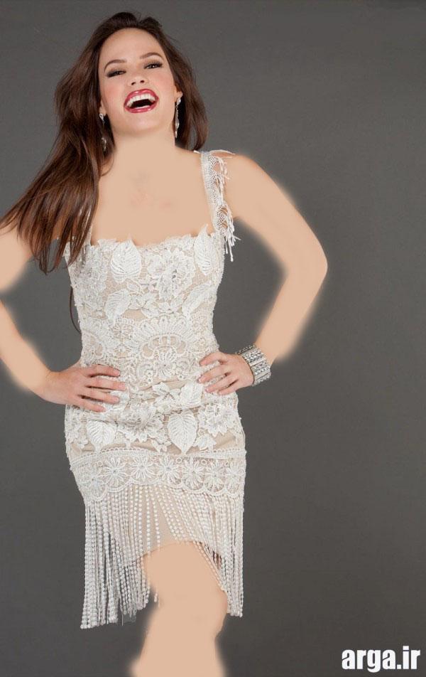 لباس مجلسی کوتاه زیبا