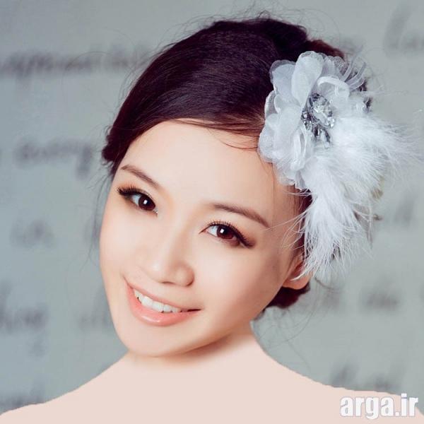 مدل موی کره ای عروس زیبا