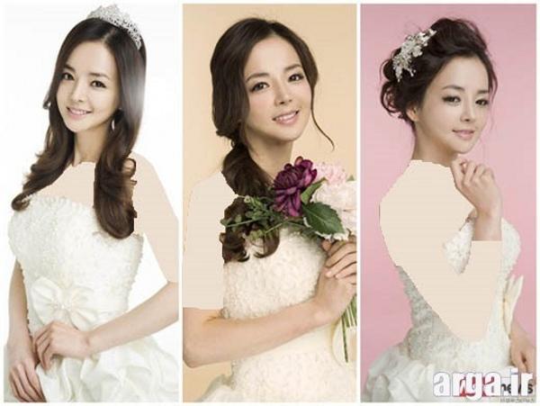 مدل موی کره ای عروس شیک