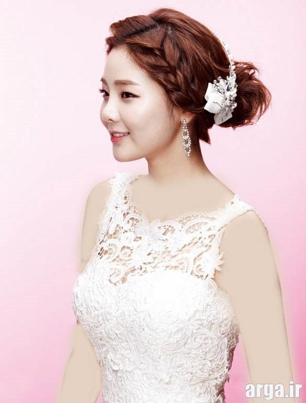 مدل موی کره ای عروس مدرن