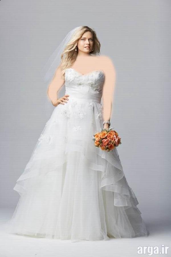لباس عروس جذاب و جدید
