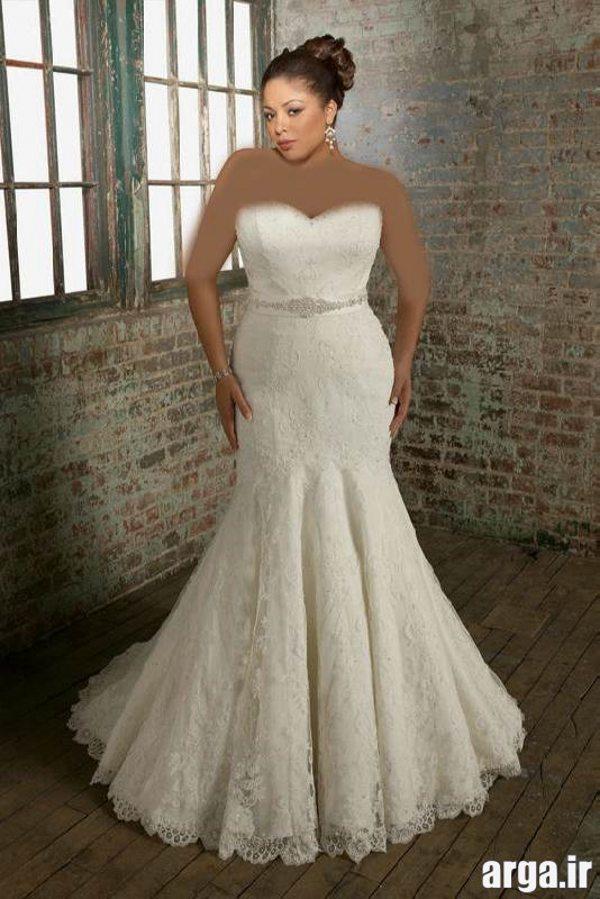 لباس عروس جذاب و مدرن