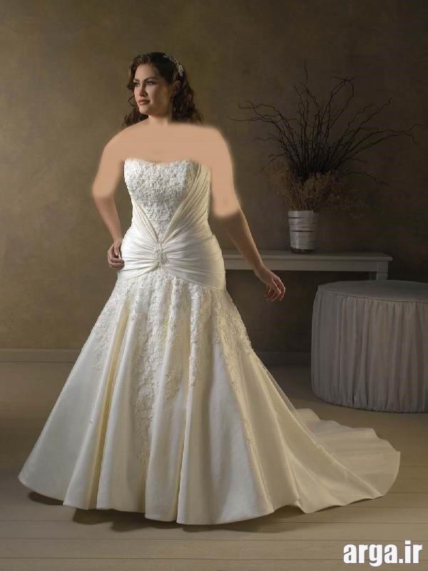لباس عروس برای افراد چاق جدید