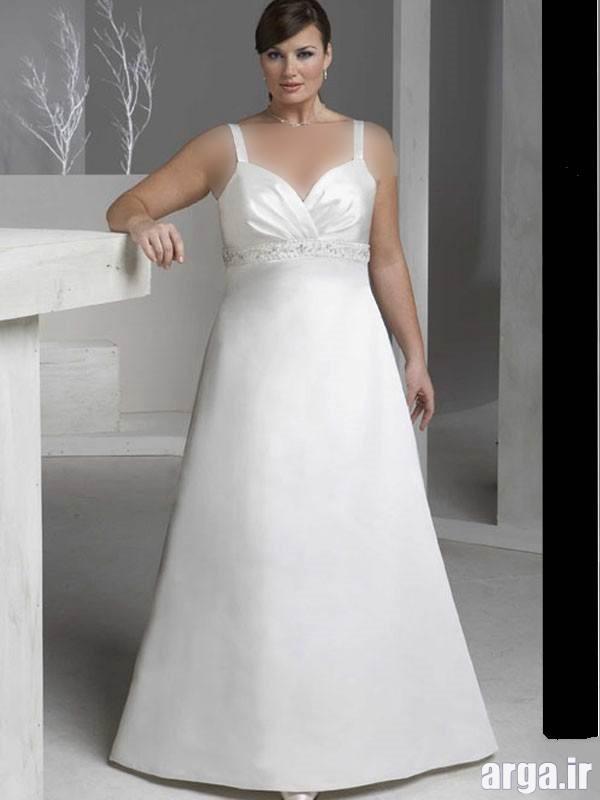 لباس عروس برای افراد چاق باکلاس