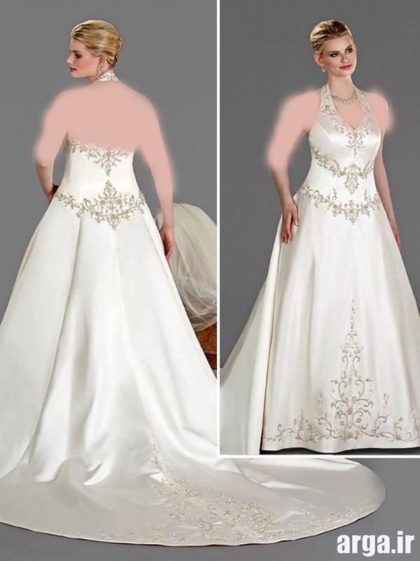 لباس عروس برای افراد چاق شیک