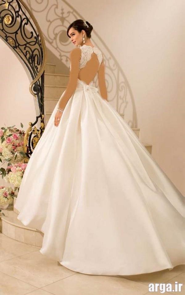 مدل های دنباله دار جدید لباس عروس
