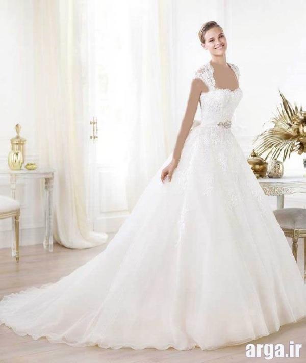 مدل های دنباله دار جذاب لباس عروس