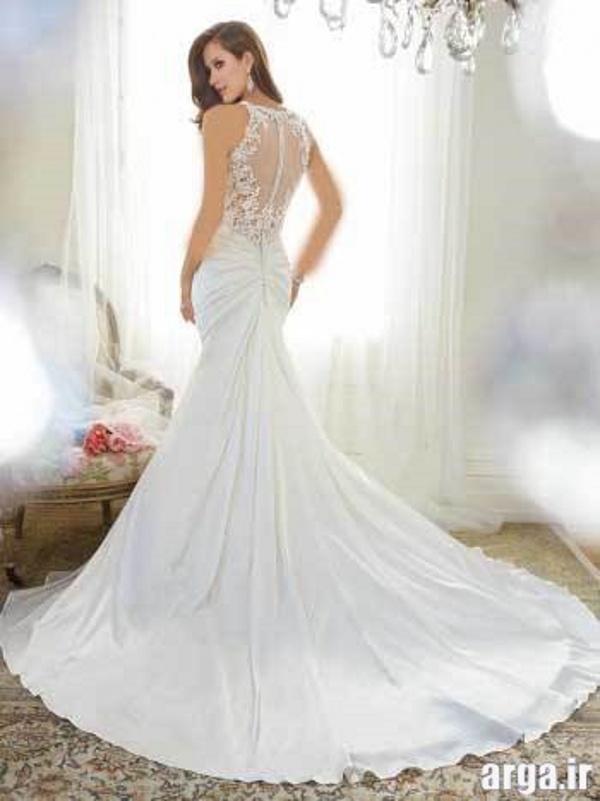 لباس های دنباله دار مدرن عروس
