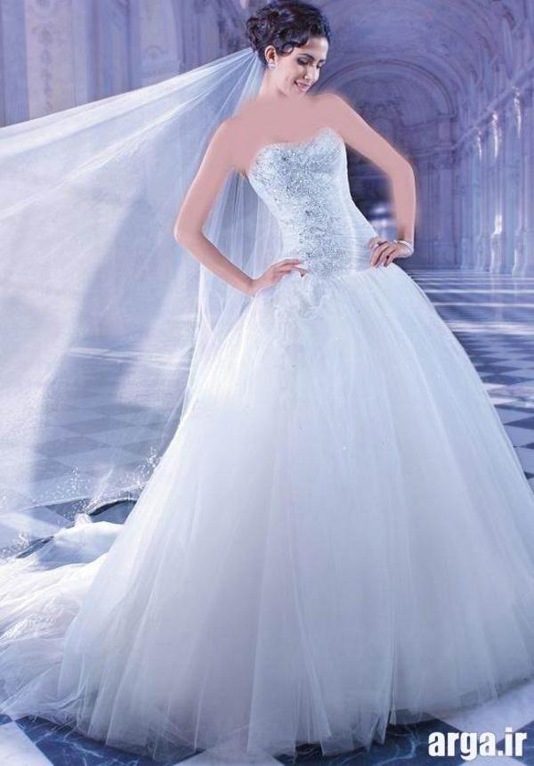 لباس عروس دوست داشتنی اروپایی