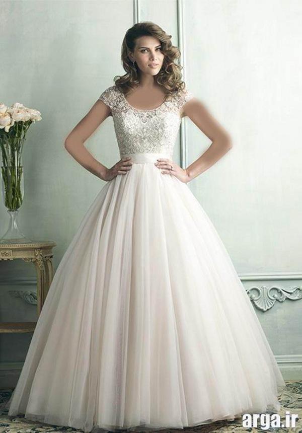لباس عروس زیبا و مدرن اروپایی