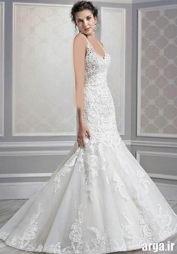 لباس عروس گیپور اروپایی